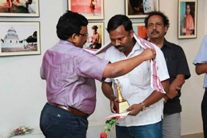 Received Felicitation From The Director Of Culture, Govt. Of Odisha On 27th June 2014